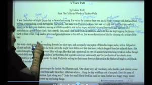 how to annotate a short story how to annotate a short story