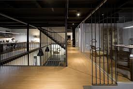 ingenious office design combines modern and industrial styles beautiful office design