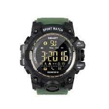 EX16S Waterproof <b>Smart Sport</b> Watch Bluetooth Pedometer <b>Men</b> ...