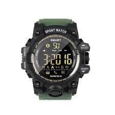EX16S Waterproof <b>Smart Sport Watch</b> Bluetooth Pedometer <b>Men</b> ...