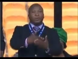 Fake Sign Language Translator At Nelson Mandela's Memorial ...