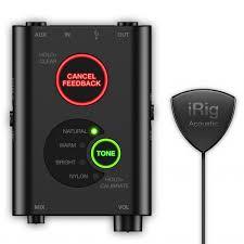Мобильный <b>аудиоинтерфейс IK Multimedia</b> iRig Acoustic Stage