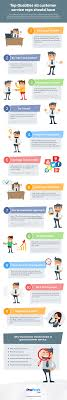 top qualities all customer service reps should have infographic customer service support