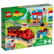 Электромеханический <b>конструктор</b> lego duplo 10874 <b>поезд</b> на ...