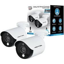 Night Owl CAM-2PK-C20XL <b>2</b>-Camera <b>2MP</b> (<b>1080P</b>) Wired Camera ...
