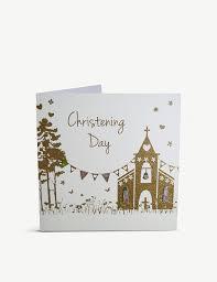 <b>FIVE</b> DOLLAR SHAKE - Christening Day greetings card <b>16cm</b> ...