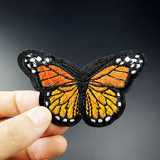 <b>Pulaqi Cartoon</b> Butterfly Patch DIY Embroidery Patches For Clothing ...
