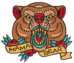 SOURPUSS MAMA <b>BEAR PATCH</b> - Sourpuss <b>Clothing</b>