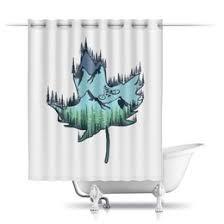 """Шторы для ванных комнат c неординарными принтами """"Спорт ..."""