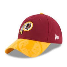 Washington Redskins Yellow/Maroon Two Tone Plastic Snapback ...