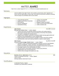teacher resume templates resume  seangarrette coteacher resume templates