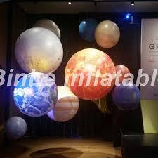 Online Shop Popular <b>giant inflatable</b> led planet <b>balloons</b> earth <b>moon</b> ...