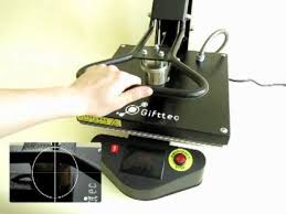 Плоский магнитный термопресс Gifttec - YouTube