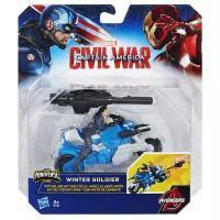 <b>Игровые наборы Avengers Боевой</b> мотоцикл Winter Soldier с ...