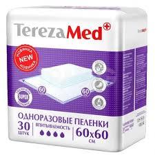 Пелёнки <b>одноразовые TerezaMed Super</b> 60 х 60 см (30 шт ...
