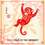Image result for year of the monkey 2016