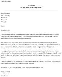 flight attendant cover letter example   job seekers forumsrelated topics
