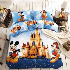 disney bedding set twin and queen size 100 cotton and super soft material 5pcs bedroom queen sets kids twin