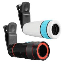 <b>12x</b> Optical <b>Zoom</b> Telescope <b>Telephoto</b> Phone <b>Lens Clip</b> Universal ...