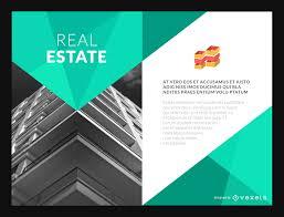 real estate poster or flyer maker editable design real estate flyer mockup template