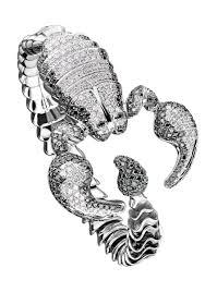 Купить <b>Браслет</b> Roberto Coin White Gold Diamond <b>Scorpion</b> ...