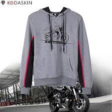<b>KODASKIN Men</b> Racer Motorcycle Hoodies Hooded Coat Hoody ...
