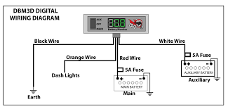 dual monitor wiring diagram p ha offroad battery monitors 4x4 accessories online dbm3d digital wiring diagram