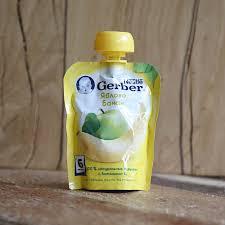 gerber пюре яблоко 90 г