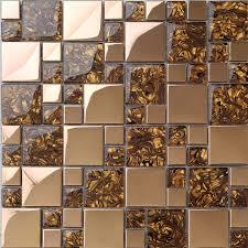 metal glass modern kitchen mosaic