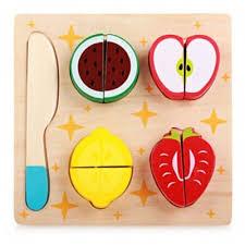 <b>Wooden</b> Cutting Food <b>Toy</b> Set STYLE 1-$6.67 Online Shopping ...