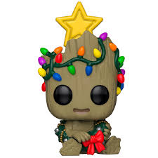 Купить <b>Фигурка Funko POP</b>! <b>Bobble</b>: Marvel: Holiday: Groot в ...