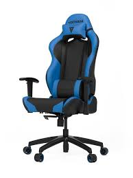 <b>Кресло компьютерное игровое</b> S-Line SL2000, black-blue ...