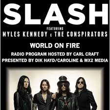 <b>Slash World On</b> Fire Radio Special by MX2 Media on SoundCloud ...