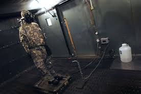 u s department of defense photo essay a thermal mannikin is used to test the thermal and vapor resistance values of one