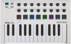 <b>Arturia MiniLab</b> mkII, White <b>MIDI</b>-<b>клавиатура</b> — купить в интернет ...