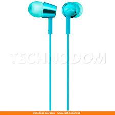 <b>Наушники</b> Вставные <b>Sony MDR</b>-<b>EX155AP</b>, <b>Light</b> Blue. Купить ...