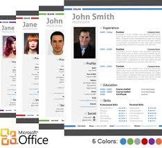 modern resume template how do i get a resume template on word
