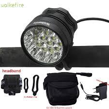 Bike Front <b>Light</b> Bicycle <b>LED Lamp Headlight</b> T6 Bulb <b>Bright</b> for ...