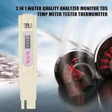 2 в 1 профессиональный <b>анализатор качества воды</b> TDS 3 ...