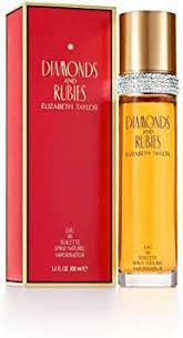 <b>Elizabeth Taylor Diamonds and</b> Rubies Eau De Toilette, 100 ml ...