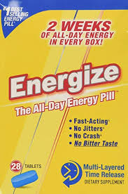 ENERGIZE The All-Day Energy Pill (28 Tablets ... - Amazon.com