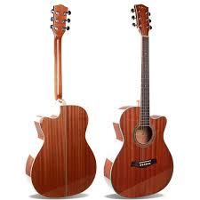 Hot Sale <b>40 Acoustic</b> Guitar Sapele <b>Top</b>, Sapele Back/Side,Folk ...