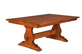 Dining Room Sets Austin Tx Vienna Amish Single Pedestal Table Viennasngped Vienna Amish