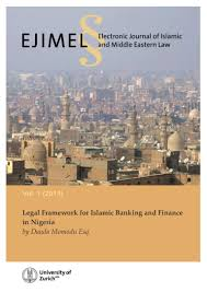 legal framework for islamic banking and finance
