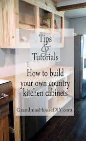 how to make kitchen cabinets: how to build your own kitchen cabinets country white building wood working diy do it yourself