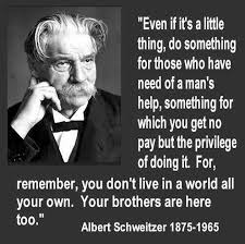 Image result for small photo albert schweitzer