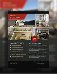 real estate flyer template   design sparkle realestateflyer