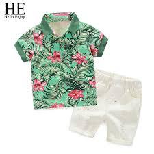 <b>HE Hello Enjoy Kids</b> Clothes Toddler Boys Clothing Set Children ...