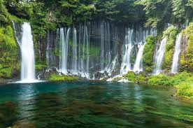 Tour the <b>mysterious</b> locations and the <b>blessed</b> waters of Mt. Fuji ...
