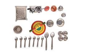 Buy bvm group <b>21 pcs Mini</b> Stainless Steel Utensils Non Toxic ...